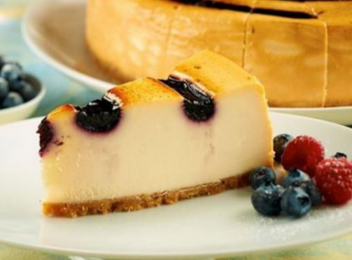 Cheesecake Blueberry Brulee